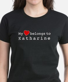 My Heart Belongs To Katharine Tee