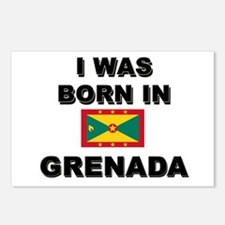 I Was Born In Grenada Postcards (Package of 8)