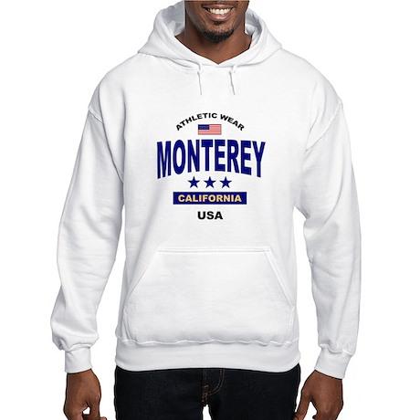 Monterey, CA Hooded Sweatshirt