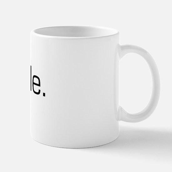 Paddle Mug