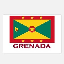 Grenada Flag Stuff Postcards (Package of 8)