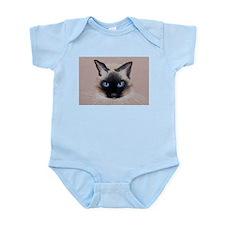 Siamese Cat Infant Bodysuit