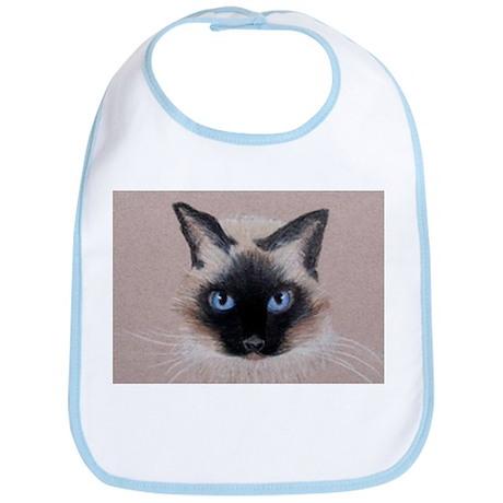 Siamese Cat Bib