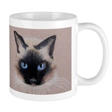 Siamese Cat Small Mug