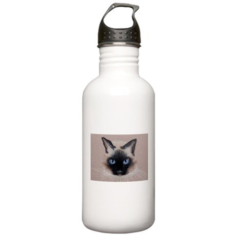 Siamese Cat Stainless Water Bottle 1.0L