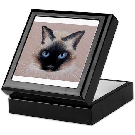 Siamese Cat Keepsake Box