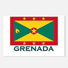 Grenada Flag Gear Postcards (Package of 8)