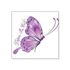 "Lupus In Coor Square Sticker 3"" x 3"""
