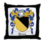 Urroz Coat of Arms Throw Pillow