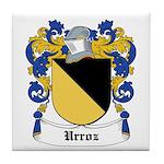 Urroz Coat of Arms Tile Coaster