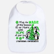 Holiday Penguins Lymphoma Bib