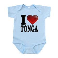 I Heart Tonga Infant Bodysuit
