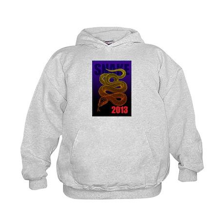 2013snake2 Kids Hoodie