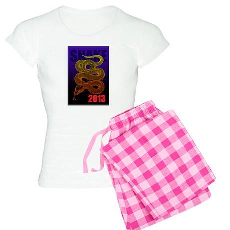 2013snake2 Women's Light Pajamas