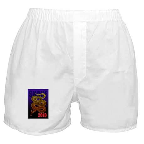 2013snake2 Boxer Shorts