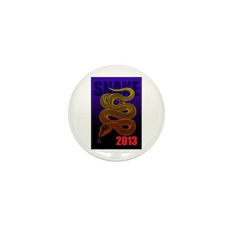 2013snake2 Mini Button