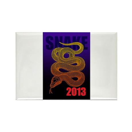 2013snake2 Rectangle Magnet (100 pack)