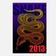 2013snake2 Postcards (Package of 8)