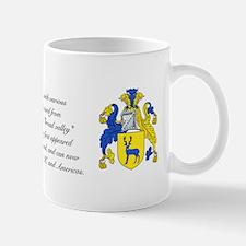 Strachan Coat of Arms w/ Surname Mug