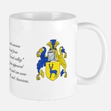Strachan Coat of Arms w/ Surname Small Mugs