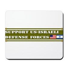 Support US-Israel Defense Forces Mousepad