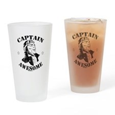 Funny Piloting Drinking Glass