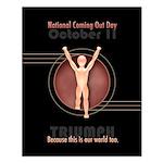 NCOD Triumph Small Poster