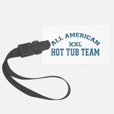 AA Hot Tub Team Luggage Tag