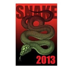 2013snake3 Postcards (Package of 8)