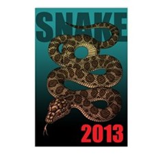 2013snake4 Postcards (Package of 8)