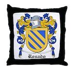 Rosado Coat of Arms Throw Pillow