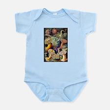 Antique 1904 Sea Anemone Nature Print Infant Bodys