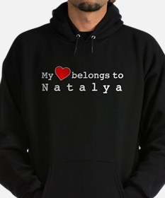 My Heart Belongs To Natalya Hoodie (dark)