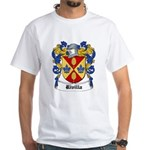Rivilla Coat of Arms White T-Shirt