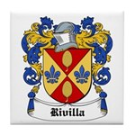 Rivilla Coat of Arms Tile Coaster