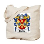 Rivilla Coat of Arms Tote Bag