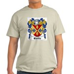 Rivilla Coat of Arms Ash Grey T-Shirt
