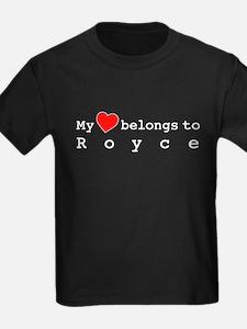 My Heart Belongs To Royce T