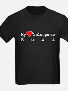 My Heart Belongs To Rubi T