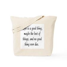 HOPE... Tote Bag