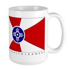 Wichita Flag Oversize Coffee Mug