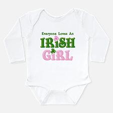 Loves An Irish Girl Long Sleeve Infant Bodysuit