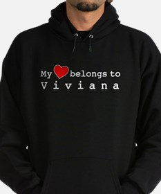 My Heart Belongs To Viviana Hoodie (dark)