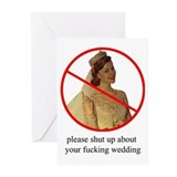 Funny bridesmaid Greeting Cards (10 Pack)