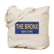Bronx Retro Plate Tote Bag
