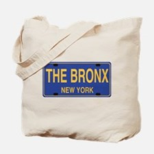 Bronx Retro Plate Tote Bag