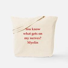 nerves Tote Bag