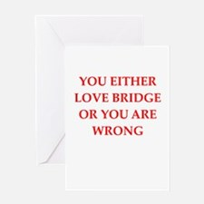 BRIDGE.png Greeting Card