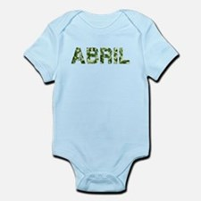 Abril, Vintage Camo, Infant Bodysuit