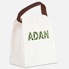 Adan, Vintage Camo, Canvas Lunch Bag